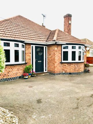 Thumbnail Detached bungalow for sale in Ethel Road, Leicester