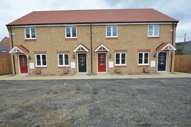 Thumbnail End terrace house for sale in Cornflower Close, Peterborough