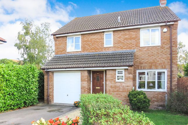 Thumbnail Detached house for sale in King Alfred Close, North Petherton, Bridgwater