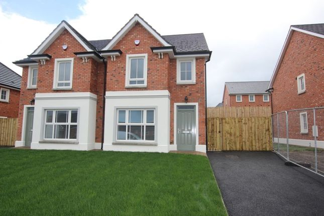 Thumbnail Semi-detached house to rent in Foxton Court, Newtownabbey