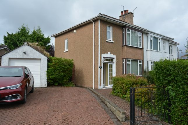 Thumbnail Semi-detached house for sale in 43 Manor Road, Old Drumchapel, Glasgow