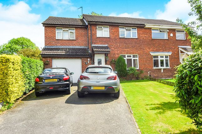 Thumbnail Semi-detached house for sale in Castle Fields, Leicester