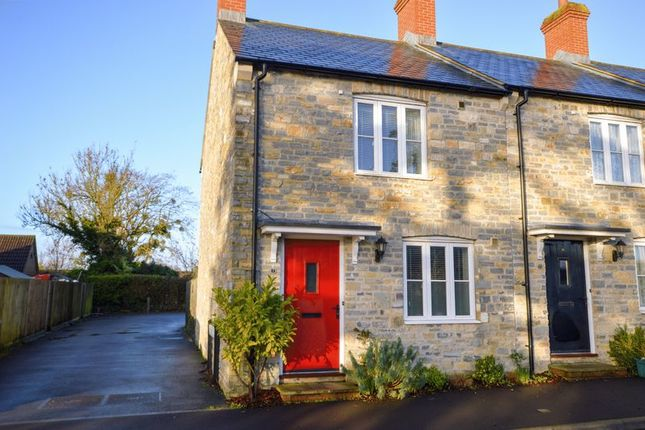 Thumbnail End terrace house for sale in Peony Road, Langport