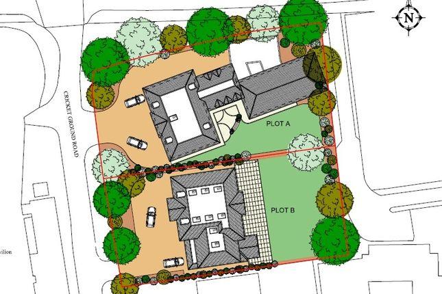Thumbnail Land for sale in Plot B, Cricket Ground Road, Chislehurst