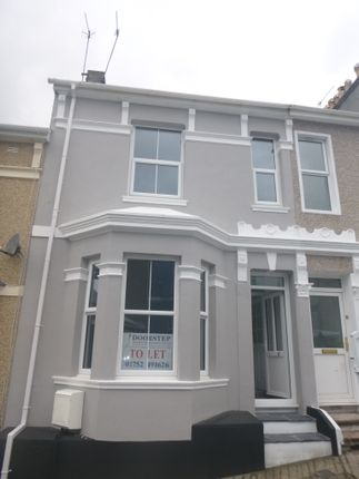 Thumbnail Terraced house to rent in Townshend Avenue, Plymouth