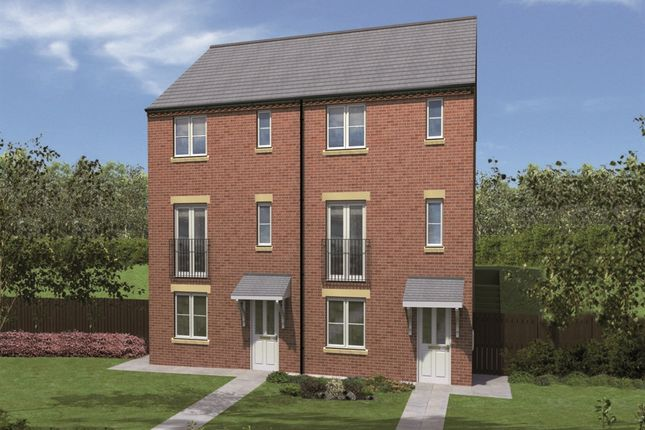 "Thumbnail End terrace house for sale in ""Cragside"" at Sterling Way, Shildon"