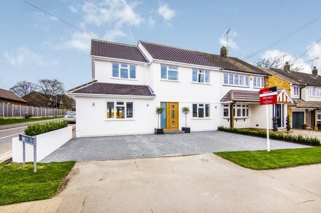 Thumbnail Semi-detached house for sale in Mountnessing Road, Billericay