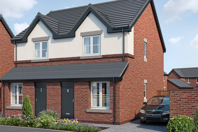 Thumbnail Semi-detached house for sale in Meres Edge, Helsby, Frodsham