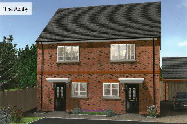Thumbnail Semi-detached house for sale in Mobbs Close, Olney