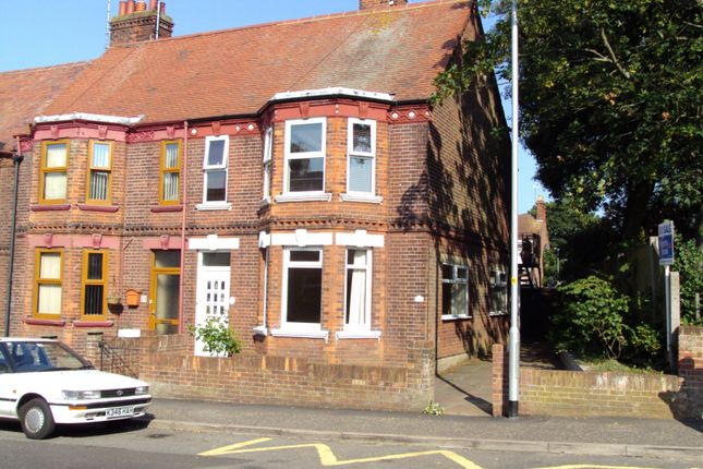 Thumbnail Flat to rent in Lowestoft Road, Gorleston