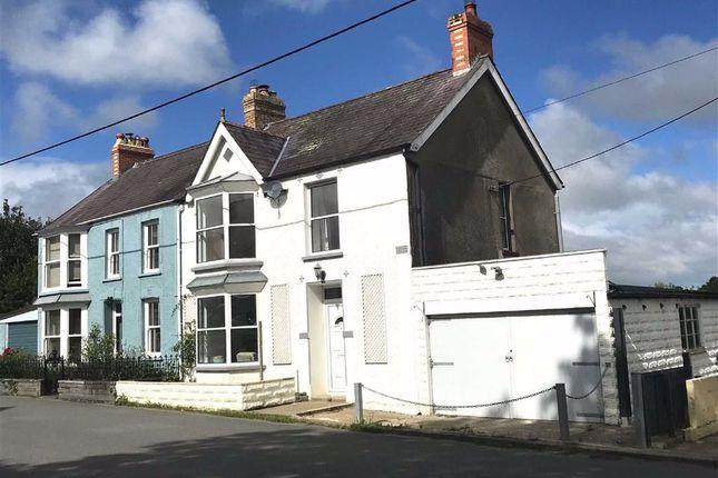 Thumbnail Semi-detached house for sale in Cnwce, Cilgerran, Pembrokeshire