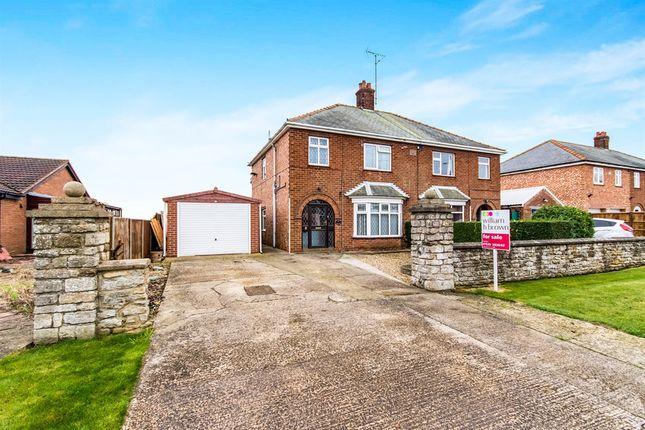 Thumbnail Semi-detached house for sale in Fen Road, Pointon, Sleaford