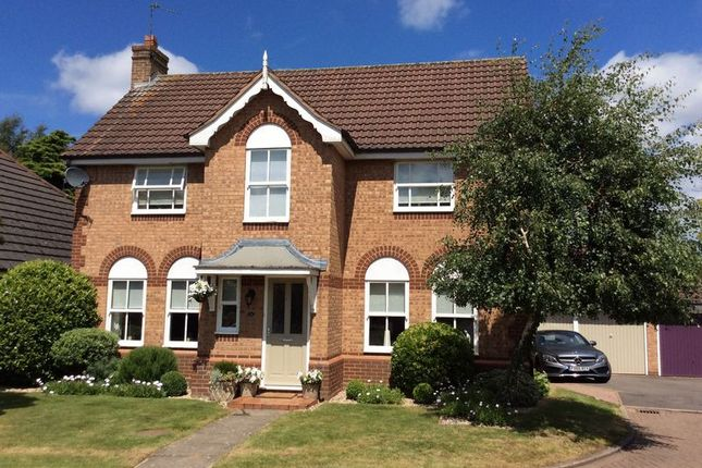 Thumbnail Detached house for sale in Selvester Drive, Quorn, Loughborough