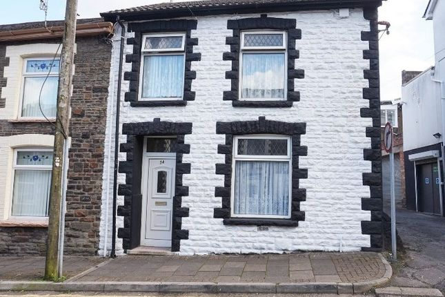 Thumbnail End terrace house for sale in Glannant Street, Tonypandy