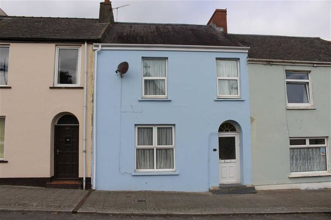 Thumbnail Terraced house for sale in Meyrick Street, Pembroke Dock
