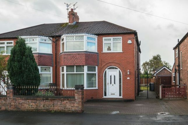 Thumbnail Semi-detached house for sale in Tabley Grove, Timperley, Altrincham