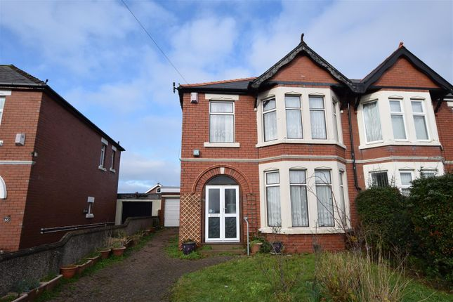 Thumbnail Semi-detached house for sale in Jenner Road, Barry