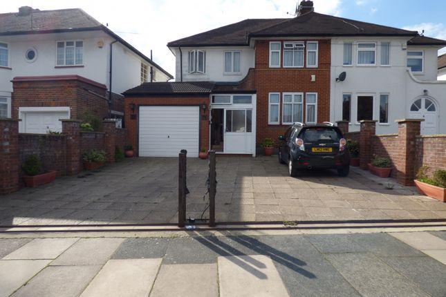 Thumbnail Semi-detached house for sale in Lakenheath, Oakwood, London