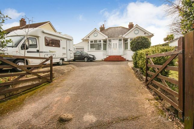 Thumbnail Detached bungalow for sale in Newton Road, Torquay