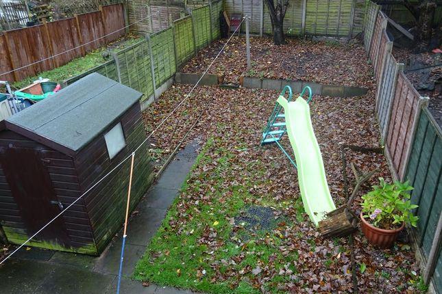 Garden of Weoley Castle Road, Weoley Castle, Birmingham B29