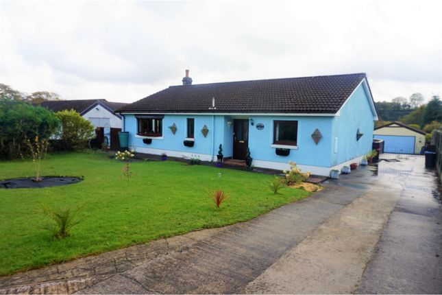 Thumbnail Detached bungalow for sale in Mynyddcerrig, Llanelli
