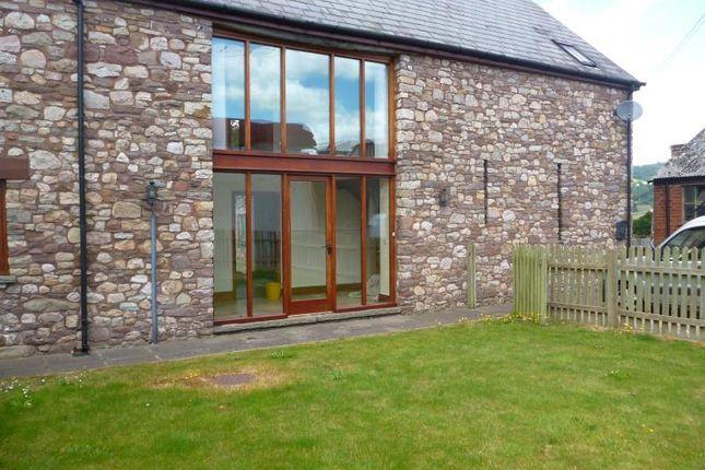 Thumbnail Barn conversion to rent in The Stone Barn, Cadvor Farm, Govilon, Abergavenny