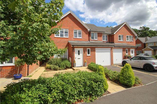 Thumbnail Semi-detached house for sale in Hazlewood Drive, Mytchett, Camberley, Surrey
