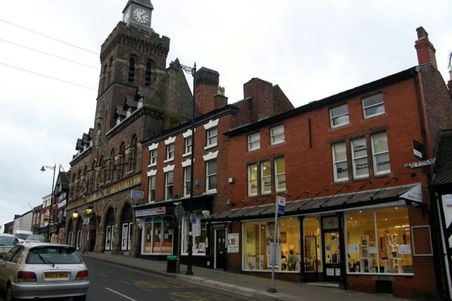 Commercial property for sale in High Street, Congleton