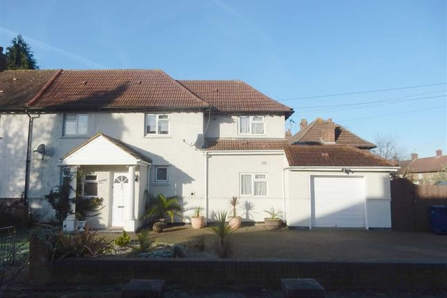Thumbnail Semi-detached house for sale in Manaton Crescent, Southall, Middlesex