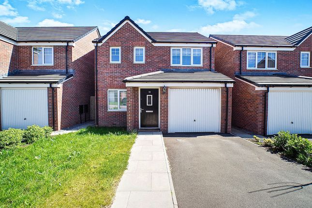 Thumbnail Detached house for sale in Bellaport Gardens, Harrington, Workington