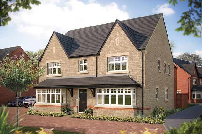"Thumbnail Detached house for sale in ""The Ascot"" at Larbourne Park Road, Flore, Northampton"