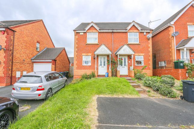 Thumbnail Semi-detached house for sale in Arthur Harris Close, Smethwick