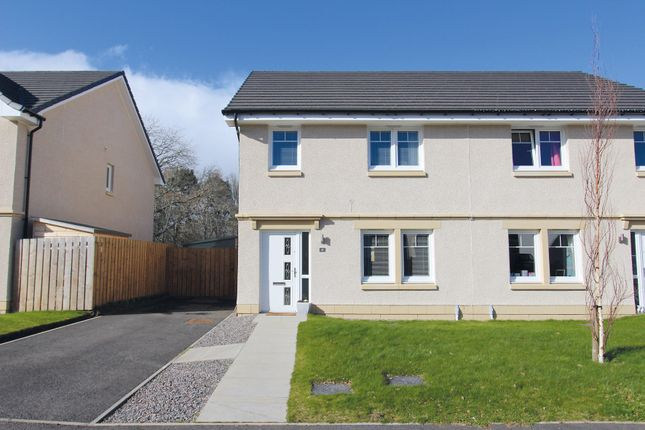 Thumbnail Semi-detached house for sale in Brock Road, Milton Of Leys, Inverness