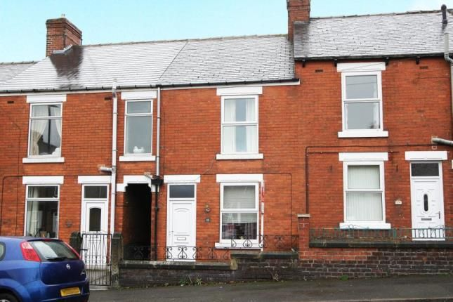 Terraced house in  Wharf Lane  Chesterfield  Derbyshire  Hackney