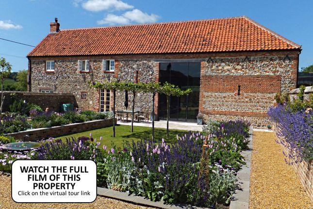 Thumbnail Barn conversion for sale in Water Lane, East Barsham, Fakenham