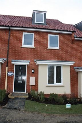 Thumbnail Terraced house to rent in Knights Way, St. Ives, Huntingdon