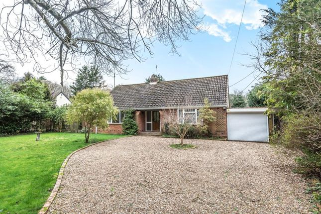 Thumbnail Detached bungalow for sale in Arborfield, Reading