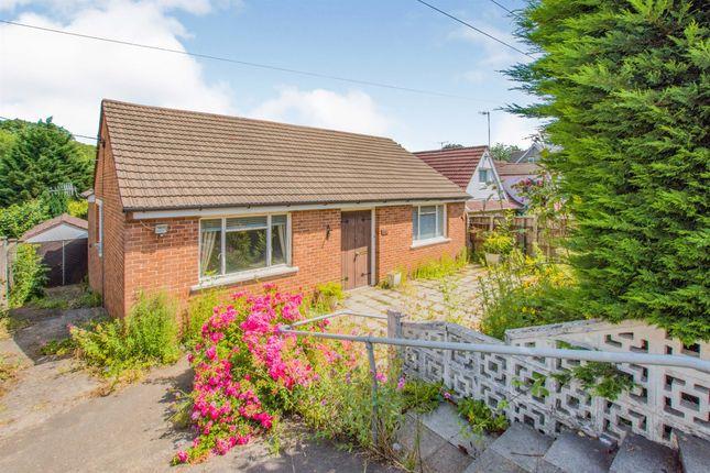 Thumbnail Detached bungalow for sale in Llantarnam Road, Llantarnam, Cwmbran