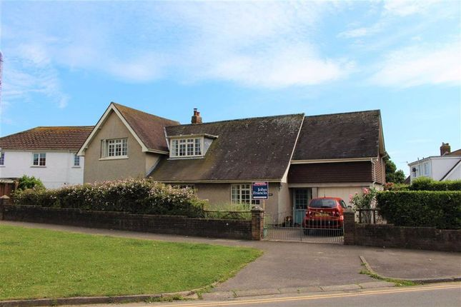 Thumbnail Detached house for sale in Heatherslade Road, Southgate, Swansea