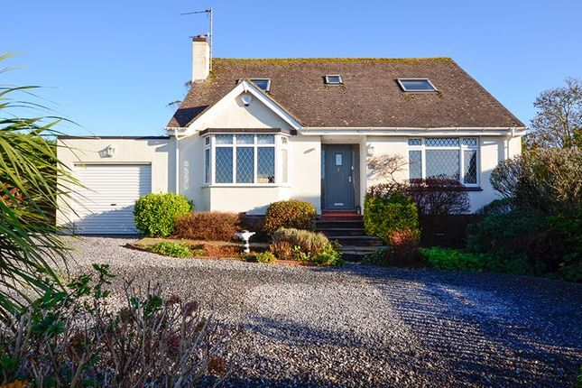 Thumbnail Detached bungalow for sale in Higher Warborough Road, Galmpton, Brixham