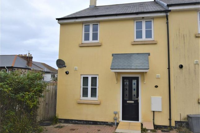 Thumbnail End terrace house for sale in Madison Close, Hayle, Cornwall
