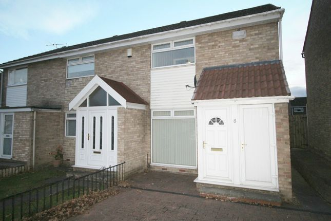 Thumbnail Semi-detached house for sale in Mossbank Grove, Darlington, Durham
