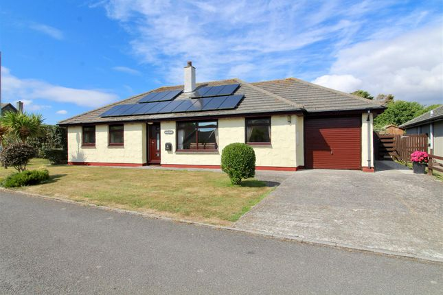 Thumbnail Detached bungalow for sale in Park Enskellaw, Mullion, Helston