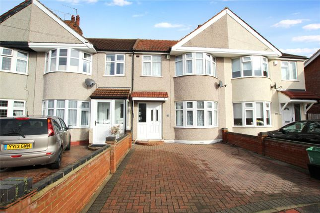Thumbnail Terraced house for sale in Lamorbey Close, Sidcup, Kent