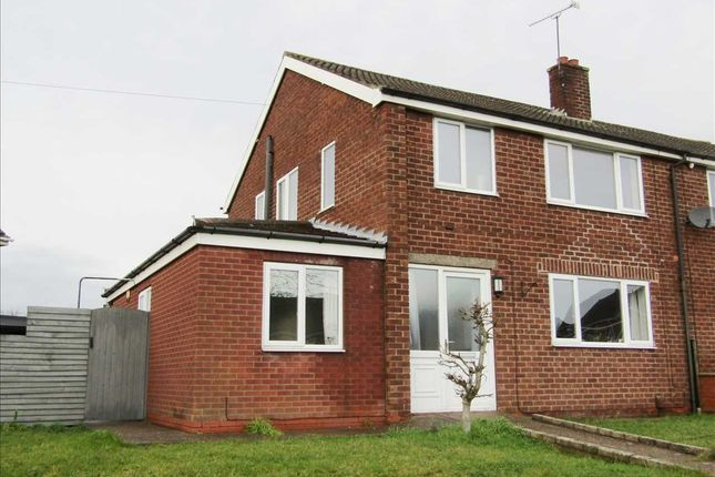 Thumbnail Semi-detached house for sale in Windsor Crescent, Bottesford, Scunthorpe