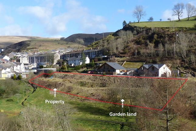 Thumbnail Land for sale in Off New Street, Pantygog, Bridgend, Bridgend County.