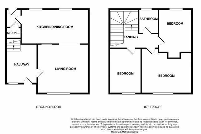 Floor Plan of Cleish Gardens, Kirkcaldy KY2