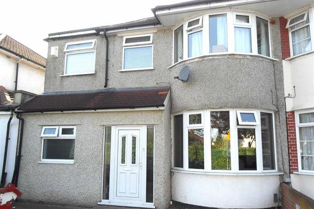 Thumbnail Semi-detached house to rent in Harlington Road, Bexleyheath, Kent