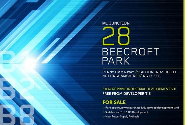 Thumbnail Land for sale in Beecroft Park, Penny Emma Way, Sutton In Ashfield, Nottinghamshire