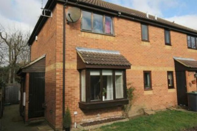 1 bed terraced house for sale in Hilldene Close, Flitwick, Bedford MK45